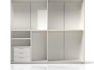 Disposizione interna dell'armadio