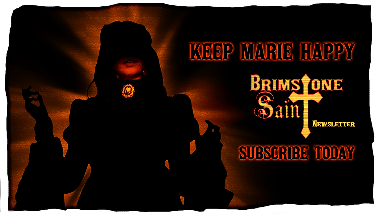 Brimstone Saint subscription link