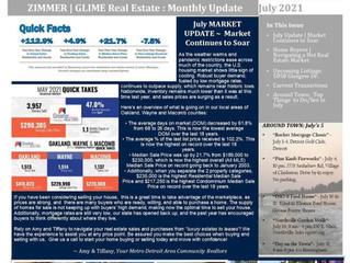 July 2021 Real Estate Newsletter