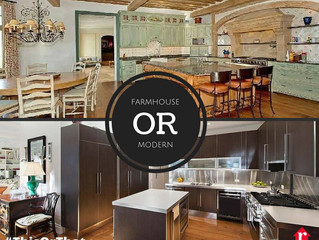 This or That ~ Farmhouse or Modern?