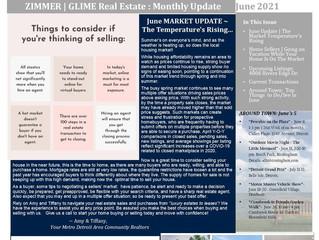 June 2021 Real Estate Newsletter