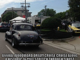 Explore: Woodward Ave. Dream Cruise