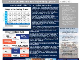 April Real Estate Newsletter