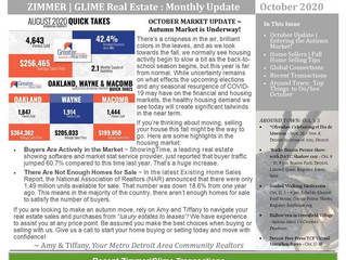 October 2020 Zimmer|Glime Real Estate Newsletter