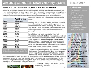 Zimmer|Glime Real Estate ~ March 2017 Newsletter