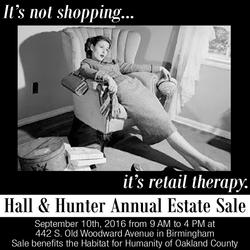 Hall & Hunter Annual Estate Sale
