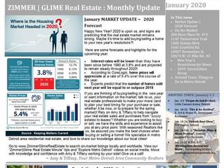 Zimmer|Glime Real Estate Newsletter ~ January 2020