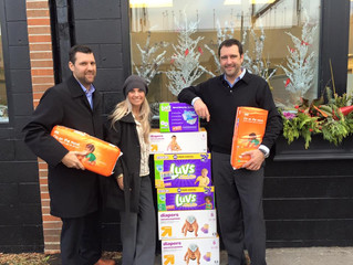 Donating Diapers to Judson Center