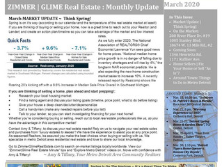 March 2020 Real Estate Newsletter
