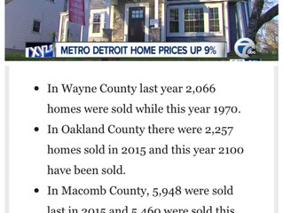 Metro Detroit Home Sales Prices On The Rise
