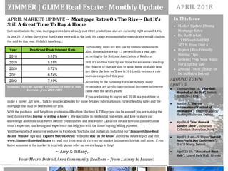 April Zimmer|Glime Real Estate Newsletter