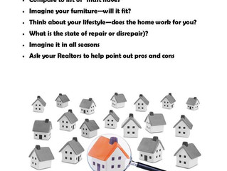 Focusing Your Home Search
