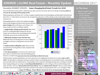 Zimmer|Glime Real Estate Newsletter ~ December 2017