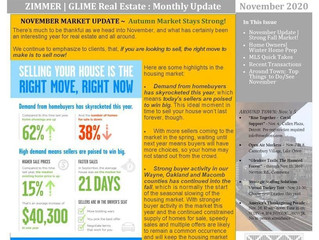November 2020 Zimmer|Glime Real Estate Newsletter