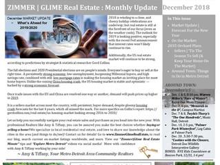 December 2018 ~ Zimmer|Glime Real Estate Newsletter