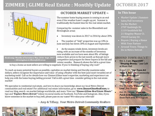 Zimmer|Glime Real Estate Newsletter ~ October 2017