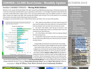 October 2018 ~ Zimmer|Glime Real Estate Newsletter