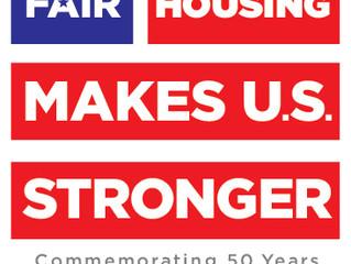 50th Anniversary of the Fair Housing Act