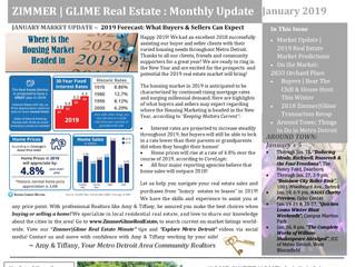 Zimmer|Glime Real Estate Newsletter ~ January 2019