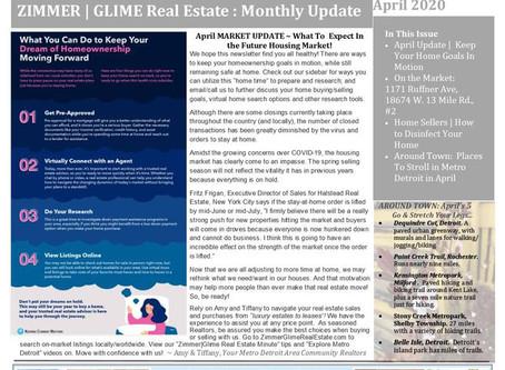 April Zimmer|Glime Real Estate Newsletter