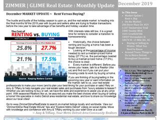 Zimmer|Glime Real Estate Newsletter ~ December 2019