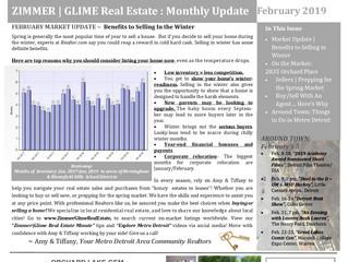 February 2019 Zimmer|Glime Real Estate Newsletter