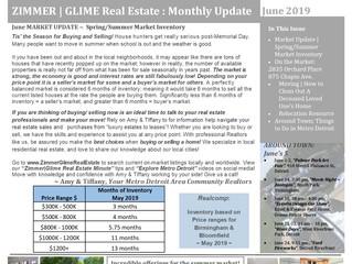Zimmer|Glime Real Estate Newsletter ~ June 2019