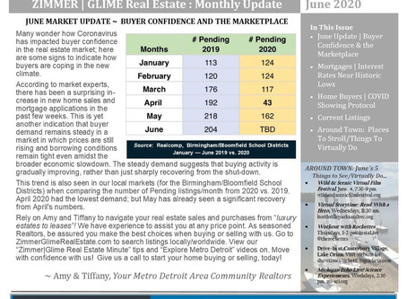 June 2020 Real Estate Newsletter