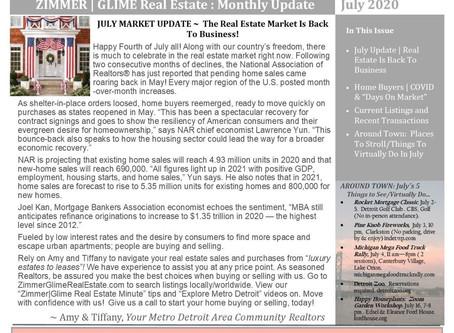 July 2020 Real Estate Newsletter