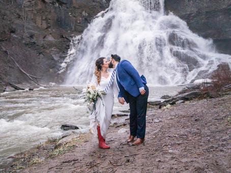 Iceland Theme Styled Shoot
