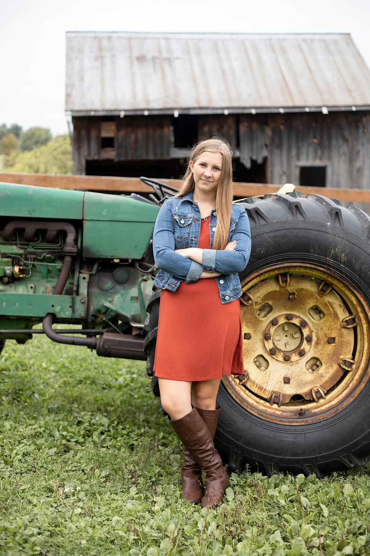 oswego ny senior pictures, apple orchard, senior portrait photographer