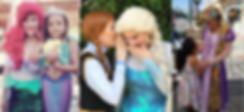 Vacaville, ariel, character Princess Party, Elsa, Frozen, Rapunzel