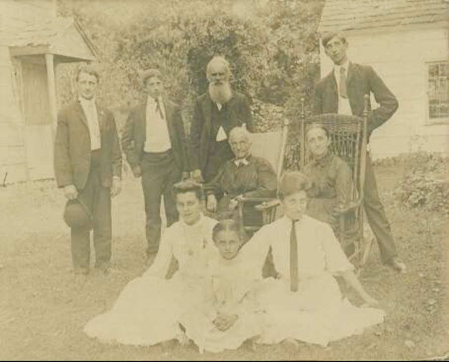 Benjamin F. M. Hallman Family
