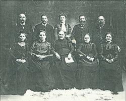 Israel Hallman Family