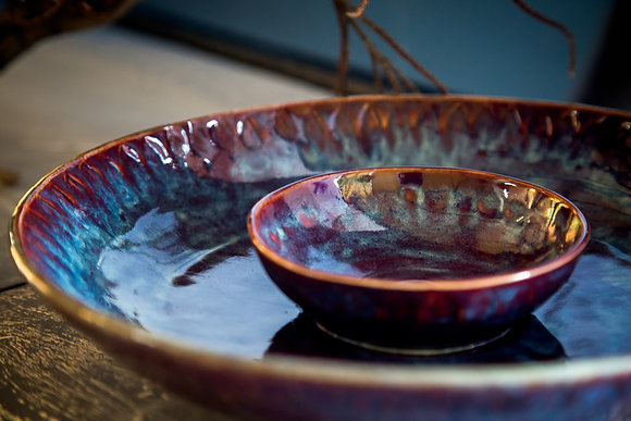 Obsidian Mix plate