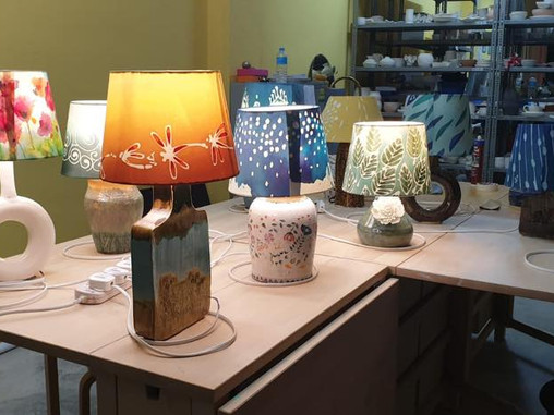 Lamps for IWA Festive Bazaar 2019