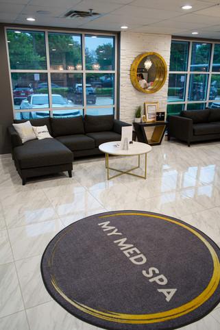 Lobby at My Med Spa