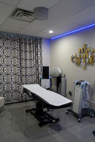 EmSculpt Room at My Med Spa