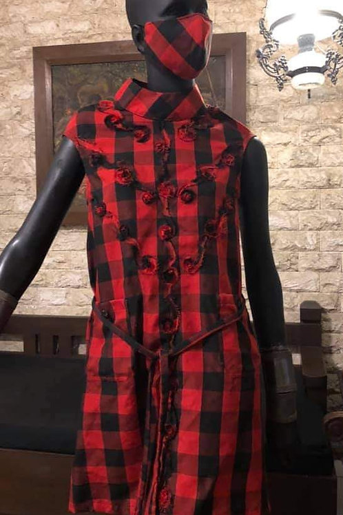 Hablon Checkered Dress