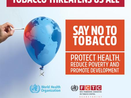 World #NoTobacco Day 2017