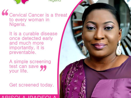 She Beat Cancer Series - Abisola Ipadeola