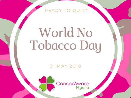 CancerAware Marks World No Tobacco Day