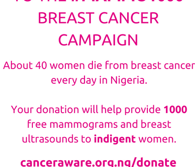 #Mammo1000 Breast Cancer Campaign