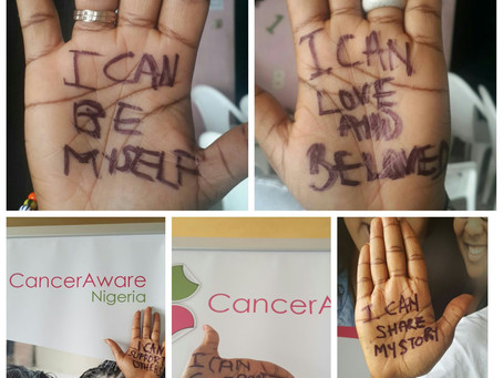 Our #WorldCancerDay #TalkingHands Photos