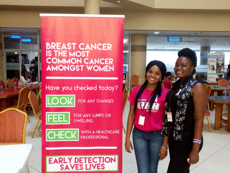 CancerAware at the ExxonMobil WIN/CoH Breast Cancer Awareness Month Event