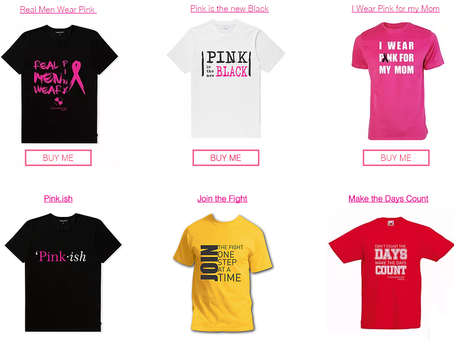 Introducing the CancerAware Merchandise Store
