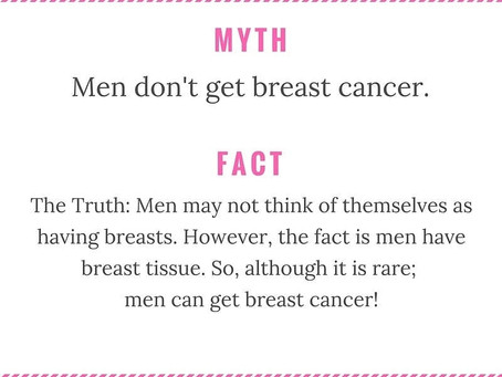 Men also get Breast Cancer