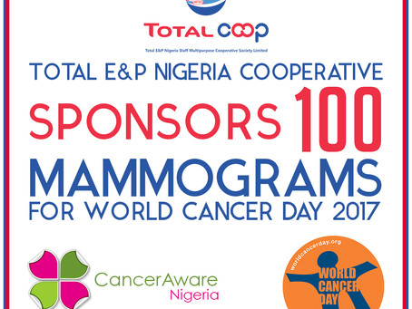 Total E&P Nigeria COOP Sponsors 100 Mammograms for World Cancer Day