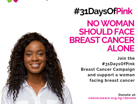 #31DaysOfPINK Breast Cancer Campaign 2021
