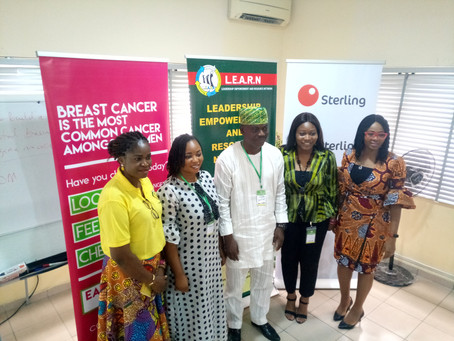 L.E.A.R.N Commemorates IWD in Lagos.